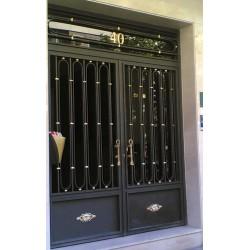 Puerta Gris Oro